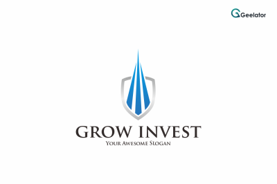 Grow Invest Logo Template