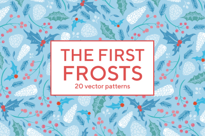 The first frosts patterns collection