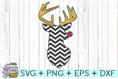 Chevron Rudolph SVG PNG DXF EPS Cutting Files