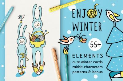 ENJOY WINTER | DESIGN SET