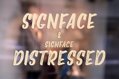 Signface & Signface Distressed