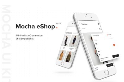 eShop Mobile App UI Kit