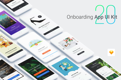 Walkthrough - Onboarding App UI Kit