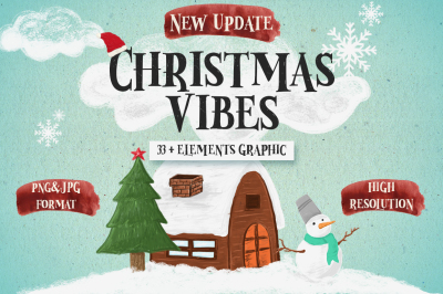 Christmas Vibes Elements