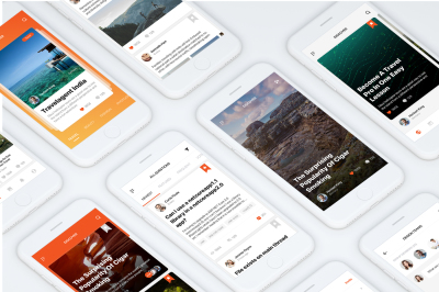 Social Mobile App UI Kit