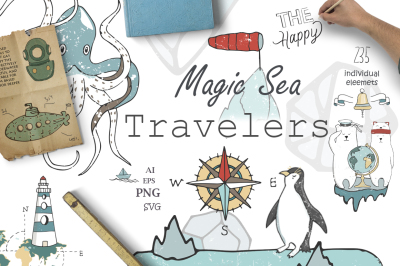 Sea Adventure Travel Kit