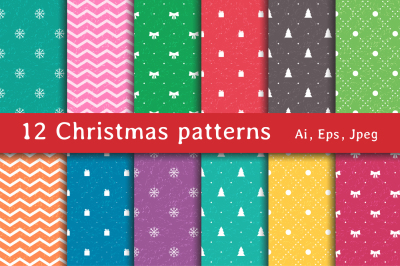 12 Christmas Patterns