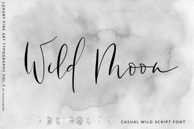 Wild Moon - Casual Script Font