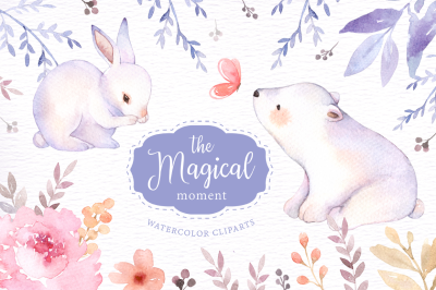 The Magical Moment Watercolor Clipart