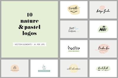 +50 simple logos