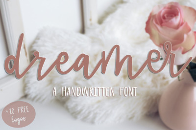 Dreamer Script + 10 FREE Logos