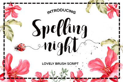 Spelling Night