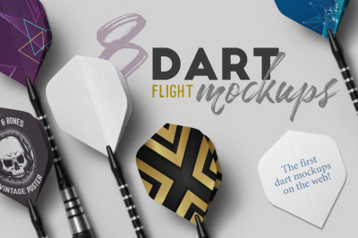 Dart Flight Mockups