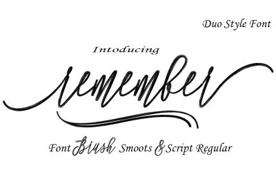 Remember Font Duo