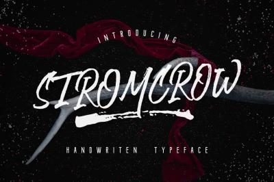 Stromcrow Typeface