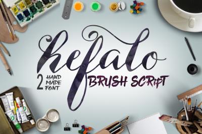 Hefalo Brushscript
