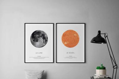 Sun of Moon Set