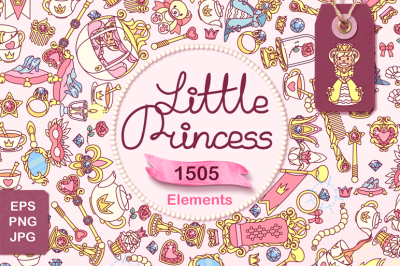 vector Big Set Little Princess