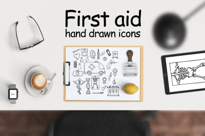 FIRST AID | medical icons