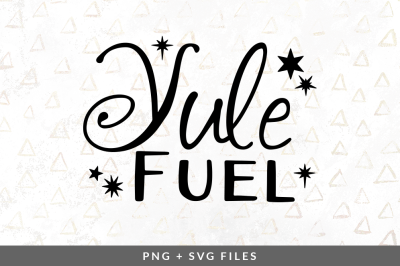Yule Fuel SVG/PNG Graphic