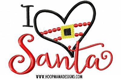 I heart Santa
