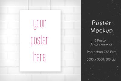Minimal Poster Mockup v3