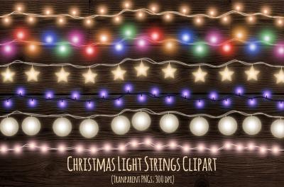 Christmas strings of light