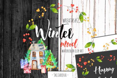 Christmas wreaths #2,3
