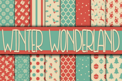 Winter Wonderland Digital Paper