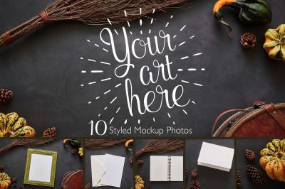 Fall Harvest Mockup Photos Bundle