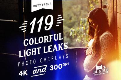119 Colorful Light Leaks