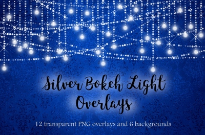 Silver lights clipart