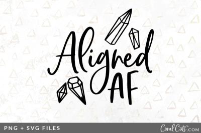 Aligned AF SVG/PNG Graphic