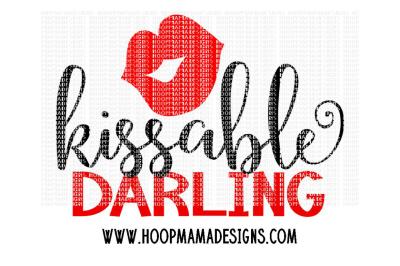 Kissable darling