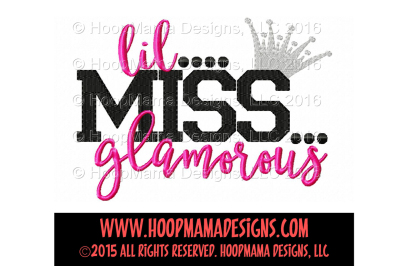 Lil Miss Glamorous