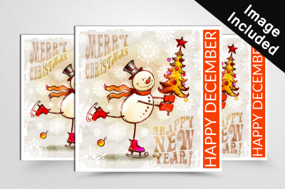 Christmas Sale Banners Psd Template