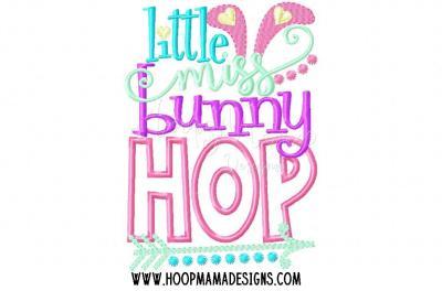 Little miss bunny hop