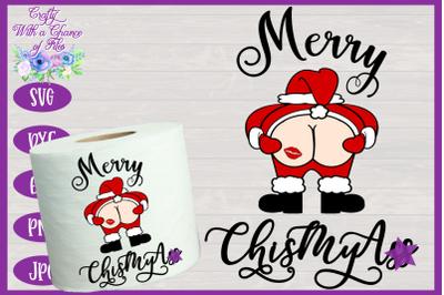 Christmas SVG | Funny Toilet Paper SVG | Christmas Gag Gift SVG