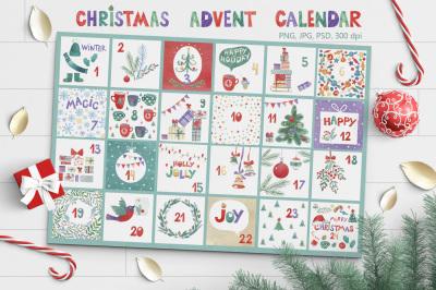 2 Christmas Advent Calendars