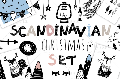 Scandinavian Christmas Bundle