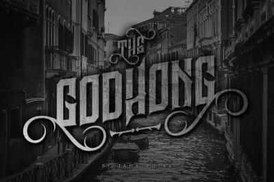 Godhong Decorative Serif Typeface