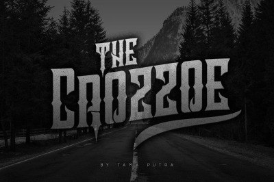Crozzoe Decorative Serif Typeface