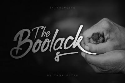 Boolack Elegant Handwritten Typeface