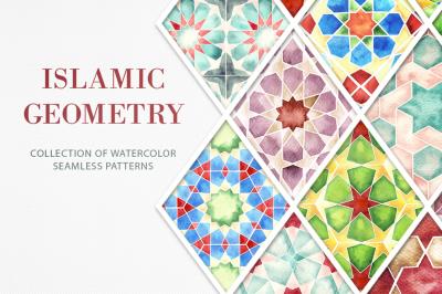 Islamic Geometric Seamless Patterns