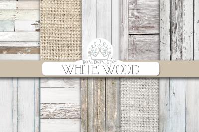 WHITE WOOD digital texture