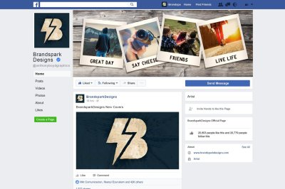 FB Cover - Polaroid Cover