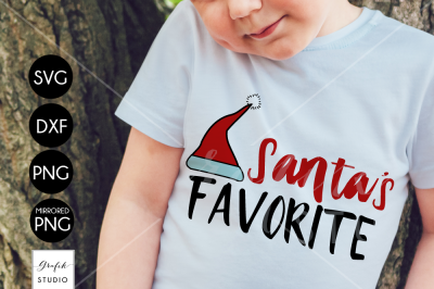 Santa's Favorite CHRISTMAS SVG File, DXF file, PNG file