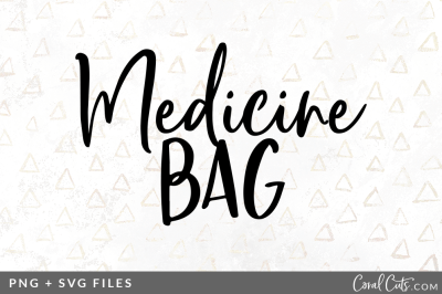 Medicine Bag SVG/PNG Graphic