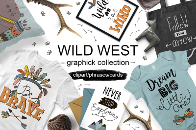 Wild West graphic collection