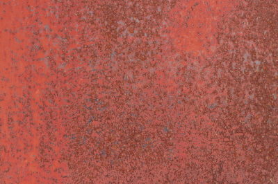 Rusty Paint Wall Texture. Blank Clean Corroded Surface.
